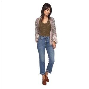 Free People Ankle Flare Jeans